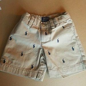 Boys 2t Ralph Laurens Shorts
